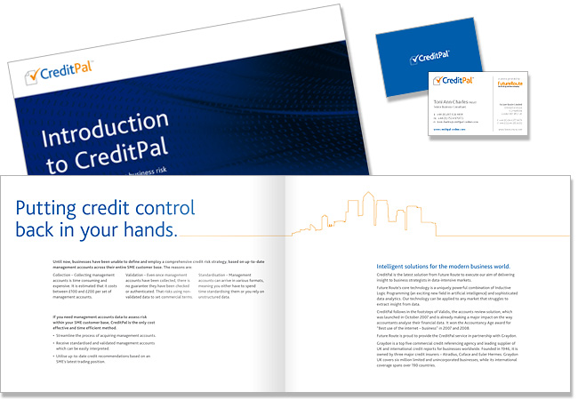 CreditPal - corporate brochure layout