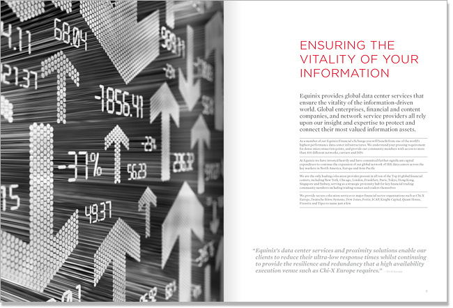 Equinix brochure layout