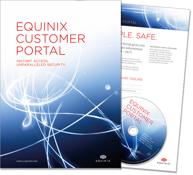 Equinix Customer Portal - customer welcome pack